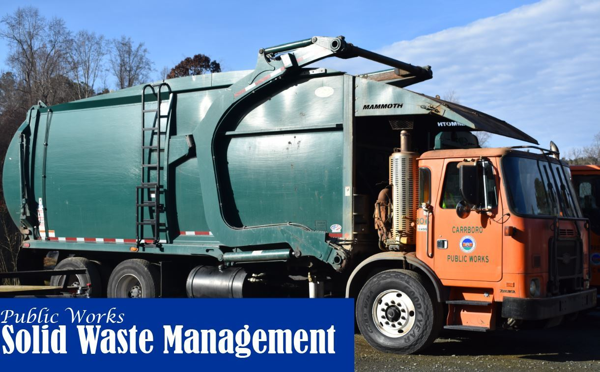 Public Works Waste Management Truck